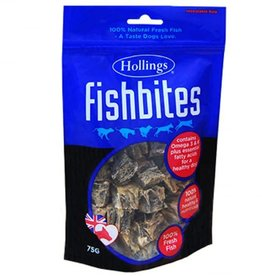 Hollings Fish Bites Dog Treat 75g