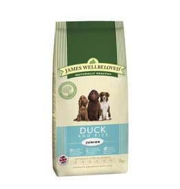 James Wellbeloved Junior Dog Food, Duck & Rice