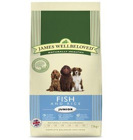 James Wellbeloved Junior Dog Food, Fish & Rice