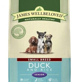 James Wellbeloved Small Breed Senior Dog Food, Duck & Rice