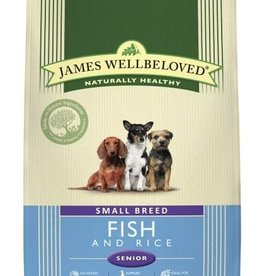James Wellbeloved Small Breed Senior Dog Food, Fish & Rice