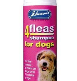 Johnsons 4Fleas Dog Shampoo Permethrin 240ml