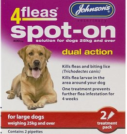Johnsons 4fleas Dual Action Spot-on Dog