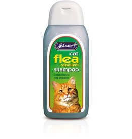 Johnsons Cat Flea Cleansing Shampoo 200ml