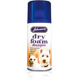 Johnsons Dry- Foam Shampoo Aerosol Spray, cleans without water 150ml