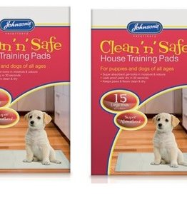 Johnsons House Training Pads Large 45cm x 60cm