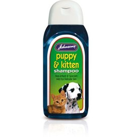 Johnsons Puppy & Kitten Shampoo 200ml