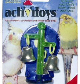JW Spinning Bells Bird Toy