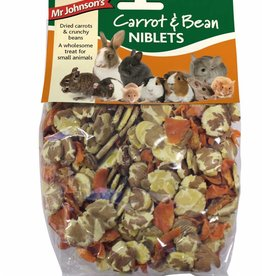 Mr Johnsons Small Animal Treats Carrot & Bean Niblets 150g