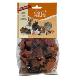 Mr Johnsons Small Animal Treats Carrot Niblets 80g