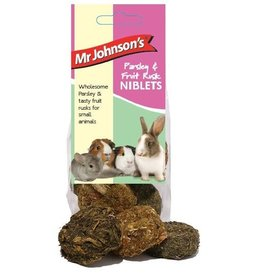 Mr Johnsons Small Animal Treats Parsley & Fruit Rusk Niblets 110g