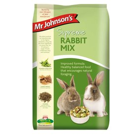 Mr Johnsons Supreme Rabbit Food Mix 15kg