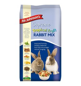 Mr Johnsons Supreme Tropical Fruit Rabbit Food Mix 900g