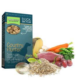 natures menu Country Hunter Dry Dog Food, Duck with Plum Chunks 700g