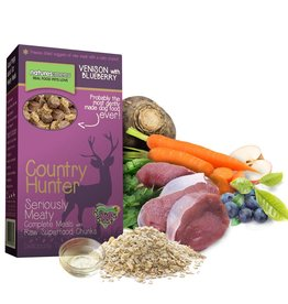 natures menu Country Hunter Dry Dog Food, Venison with Blueberry Chunks 700g