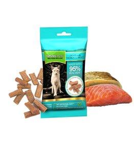 natures menu Mini Cat Treat, Real Salmon & Trout 60g