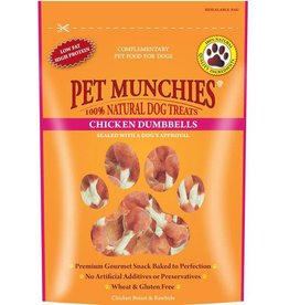 Pet Munchies 100% Natural Dog Treats, Chicken Dumbell 80g