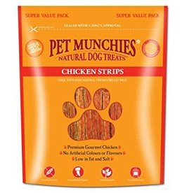 Pet Munchies 100% Natural Dog Treats, Chicken Strips 320g