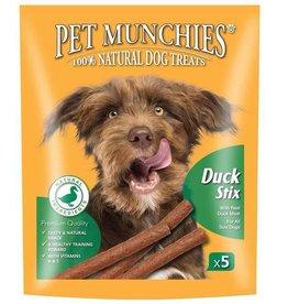 Pet Munchies 100% Natural Dog Treats, Duck Stix 50g