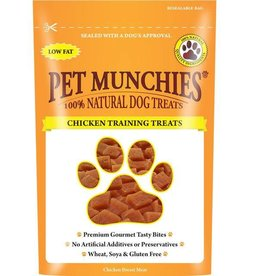 Pet Munchies 100% Natural Training Dog Treats, Chicken 50g
