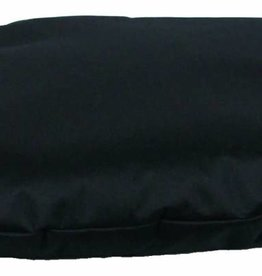 Pets & Leisure Country Dog Heavy Duty Waterproof Oval Cushion, Black