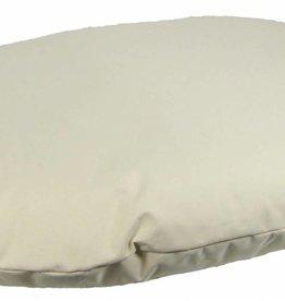 Pets & Leisure Country Dog Heavy Duty Waterproof Oval Cushion, Grey