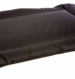 Pets & Leisure Country Dog Heavy Duty Waterproof Rectangular Cushion Pads, Black