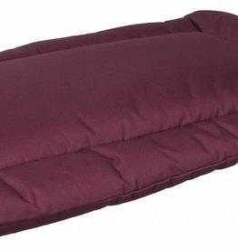 Pets & Leisure Country Dog Heavy Duty Waterproof Rectangular Cushion Pads, Burgundy