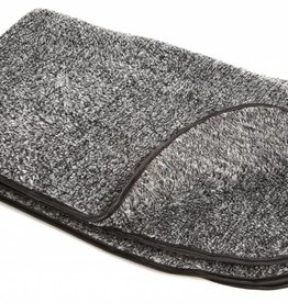 Pets & Leisure Double Thickness Sherpa Fleece Blanket, Grey