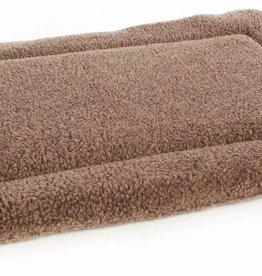 Pets & Leisure Superior Pet Beds Rectangular Fleece Cushion Pads, Brown