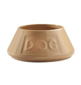 Mason Cash Ceramic Mason Cash Spaniel Bowl 21cm No-Tip, Dog Lettering