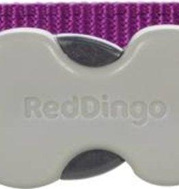 Red Dingo Breezy Love Purple  Dog Collar