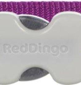 Red Dingo Purple Daisy Chain Dog Collar