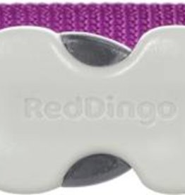 Red Dingo Classic Purple Dog Collar