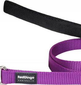 Red Dingo Classic Purple Dog Lead