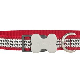 Red Dingo Fang-it Red Dog Collar