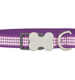 Red Dingo Fang-it Purple Dog Collar