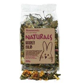 Rosewood Boredom Breaker Naturals Small Animal Treat Natures Salad 200g