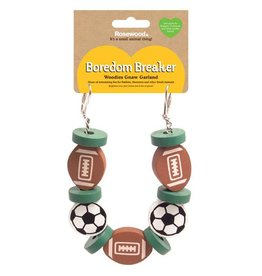 Rosewood Boredom Breaker Nibble Stix & Woodies Sports Garland Toy