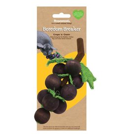 Rosewood Boredom Breaker Small Animal Grape n Gnaw Toy