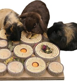 Rosewood Boredom Breaker Small Animal Maze-a-log Treat Challenge