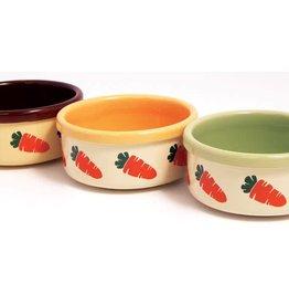 Rosewood Ceramic Bowls 13cm 5inch Carrot Design