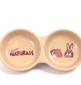 Rosewood Ceramic Bowls 20cm 8inch Naturals Twin Dish