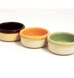 Rosewood Ceramic Bowls 9cm 3.5inch Two-Tone Design