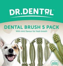 Rosewood Dr Dental Dental Brushes 5 Pack Dog Treats 100g
