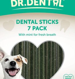 Rosewood Dr Dental Minty Dental Sticks 7 Pack Dog Treats 182g