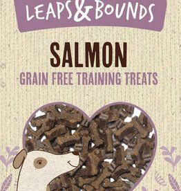 Rosewood Leaps & Bounds Grain Free Training Bites Salmon Dog Treats 100g