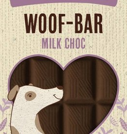Rosewood Leaps & Bounds Woof Choc Bar Dog Treat 100g