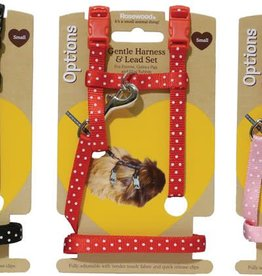 Rosewood Options Gentle Harness & Lead Set for Small Animals