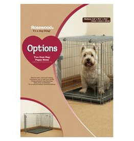 Rosewood Options Two Door Dog/Puppy Cat Homes^